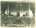 Hall of Zetagathian Literary Society, The University of Iowa, 1890