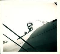 0048_Ross Martin in Plane,1942