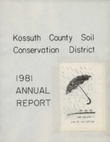 1981 Kossuth County Soil and Water Conservation District Annual Report