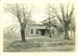 Front view of Hutchinson House without screened porch, the University of Iowa, 1927