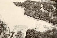 Flood Waters Flow Over Field