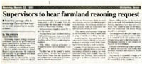 Farmland Rezoning Request