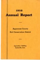 Annual report, 1958.
