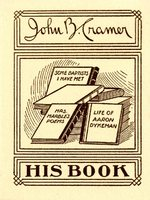 John B. Cramer Bookplate