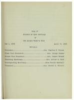 0114 Des Moines Women's Club Minutes 1928-1930