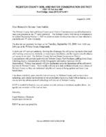 Letter To Senator Harkin From Webster SWCD