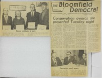 1968 - Conservation Awards are Presented Tuesday Night