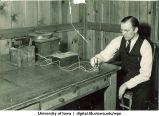 Laboratory equipment, The University of Iowa, 1930s