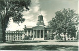 East side of Old Capitol, The University of Iowa, 1953