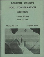 1968 Kossuth County Soil and Water Conservation District Annual Report