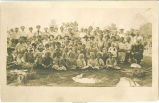 Jefferson Sunday School picnic group portrait, Jefferson, Iowa, 1910s
