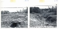 Pipe spillway earth dam installed on Ben Mootz farm, 1963
