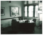 Office in the Iowa Memorial Union, the University of Iowa, 1950s?