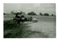 Overturned Tractor, 1958
