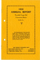 1952 Poweshiek County Soil and Water Conservation District Annual Report