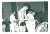 High school swim meet, The University of Iowa, March 1967