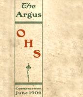 Ottumwa High School 1906 Yearbook