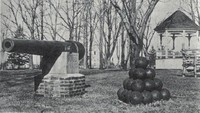 Garnavillo, City Park - Cannon 1903-WW II