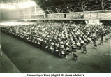 Registration in the Armory, The University of Iowa, 1930s