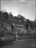 LG 151  Starr's Cave entrance