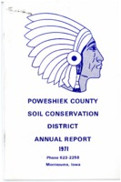 1971 Poweshiek County Soil and Water Conservation District Annual Report