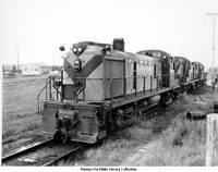 Chicago and Northwestern Railroad engine