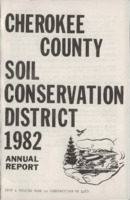 Cherokee County Soil Conservation District Annual Report - 1982