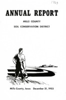 0163. Thirteenth Annual Report Mills County Soil Conservation District, Mills County Iowa, December 31, 1953