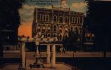 Postcard of the Downing Hotel in Oskaloosa, Iowa, Circa 1895