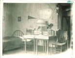 Dormitory room, The University of Iowa, 1910