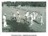 Tennis instruction, The University of Iowa, 1940