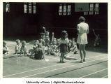 Gym class, The University of Iowa, 1930s