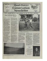 Quad-District Conservation Newsletter; Vol. 2, no. 3 (1997, Autumn).