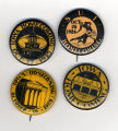 Homecoming badges, 1920s