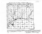 Iowa land survey map of t086n, r040w
