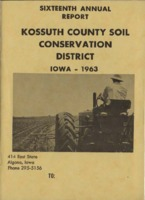 1963 Kossuth County Soil and Water Conservation District Annual Report