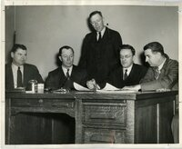 1946 - First Des Moines County Soil Conservation Meeting