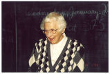 Louise Noun at the Jewish Academy, Des Moines, Iowa, April 1999