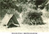 Camping, The University of Iowa, 1930s