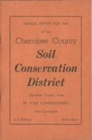 Cherokee County Soil Conservation District Annual Report - 1960