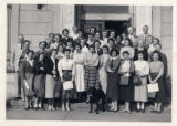 Library staff, 1955