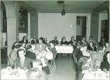 Pharmacy banquet, The University of Iowa, 1940s