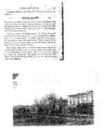 Article about George Money, view of Main Street