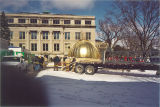 New gold dome for Old Capitol, The University of Iowa, February 24, 2003