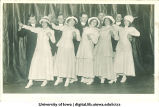 Actors dancing on stage, The University of Iowa, ca. 1920