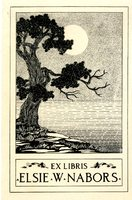 Elsie W. Nabors Bookplate