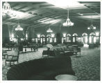 Main Lounge in the Iowa Memorial Union, the University of Iowa, 1950s?