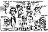 Convention sketches---Republican National Convention Chicago---June 1920.  (Some of the outstanding features of the convention.)