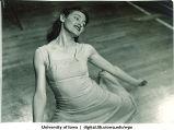 Close-up a dancer, The University of Iowa, 1939