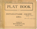 Plat book of Pottawattamie County, Iowa